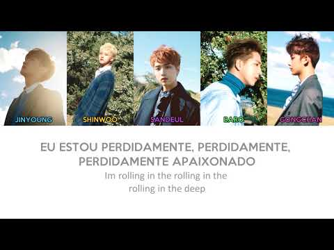 B1A4 - Rollin' (color coded PT-BR/ROM/HAN)