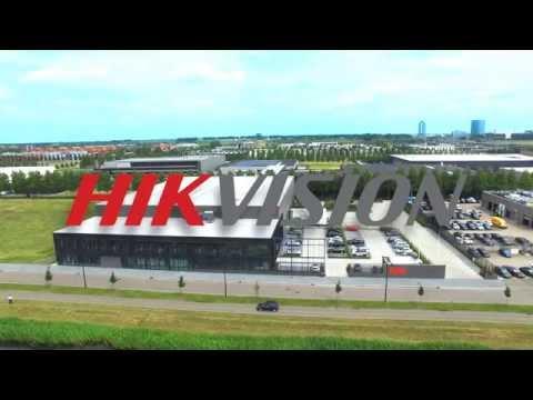 Hercuton: Prachtige drone opnames Hikvision Hoofddorp