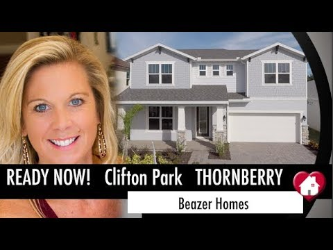 New Home Video Tour Oviedo Florida- Thornberry by Beazer at Clifton Park