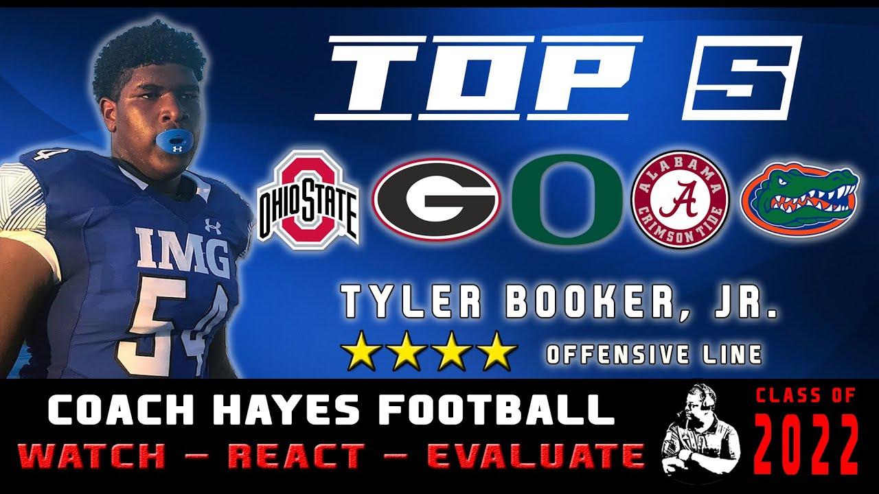4⭐ Tyler Booker, Jr. Highlights | He almost broke Po' lil Timmy's back (WRE)