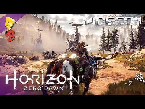 Horizon Zero Dawn: Gameplay Demo E3 2016 (Español) – Nuevas armas y enemigos