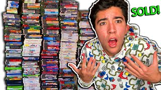 Selling Over $10,000 Worth Of Games To Gamestop!