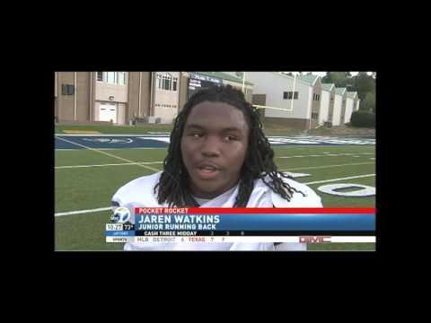 Jaren Watkins RB Pulaski Academy Video on 7 09 29 15