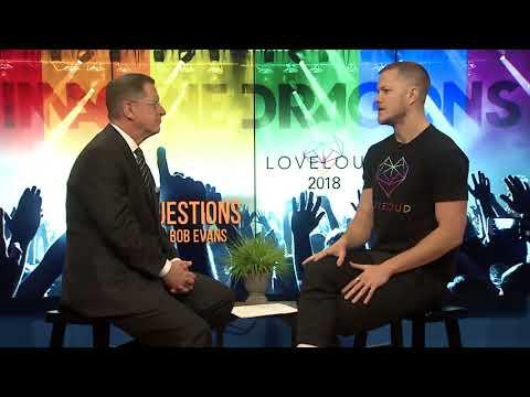 Dan Reynolds, 'Imagine Dragons' Singer - 3 Questions With Bob Evans