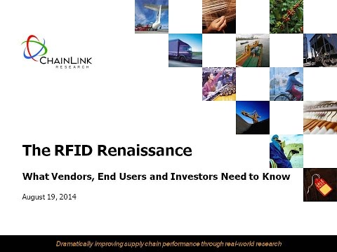 RFID Renaissance – What Vendors, End Users and Investors Need to Know