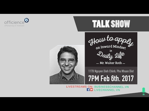 Livestream: TALK SHOW   How to Apply an Inward Mindset in Daily Life