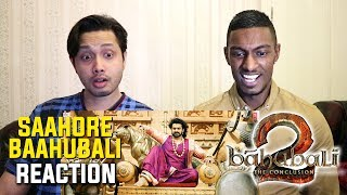Saahore Baahubali Full Video Song Reaction | Baahubali 2 | Prabhas | Ramya Krishna | By Stageflix