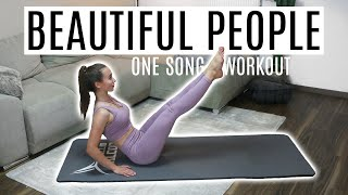 ONE SONG SIXPACK WORKOUT | Ed Sheeran (feat. Khalid) - Beautiful People