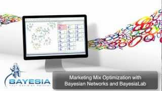 Tutorial: Marketing Mix Optimization with Bayesian Networks and BayesiaLab
