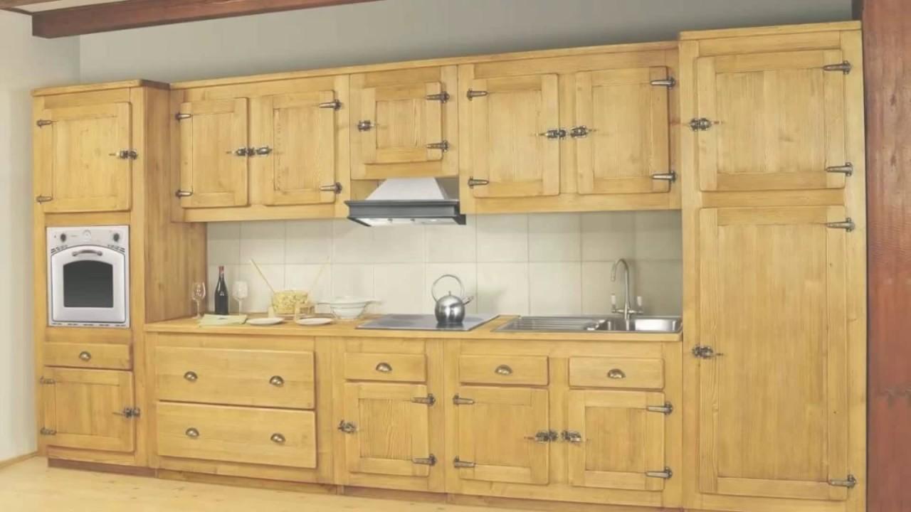 Meuble En Sapin Brut meuble de cuisine en pin