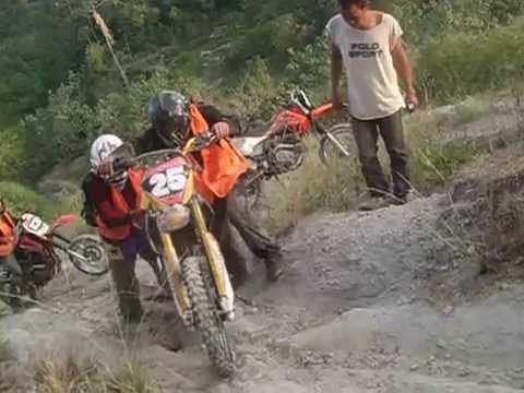Kalilangan Trail Riders at Purok 4 Maca-opao Kalilangan Bukidnon