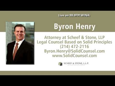 Attorney Byron Henry live on the radio in Virginia | 6/25/16