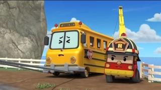 Робокар Поли - Приключение друзей - Экскурсия для Энни (мультфильм 24) Познавательный мультфильм