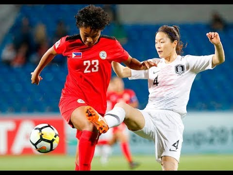 Philippines 0-5 Korea Republic (AFC Women's Asian Cup 2018: 5th/6th Playoff)