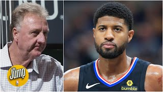 The belief is Paul George was calling out Larry Bird - Brian Windhorst | The Jump