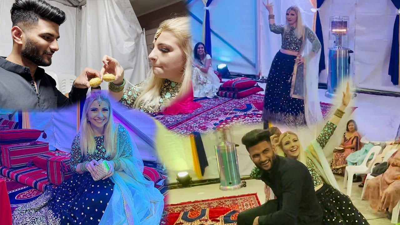 My American Fiancée Attends Her 1st Indian Wedding