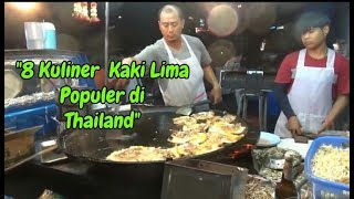 8 JAJANAN POPULER THAILAND