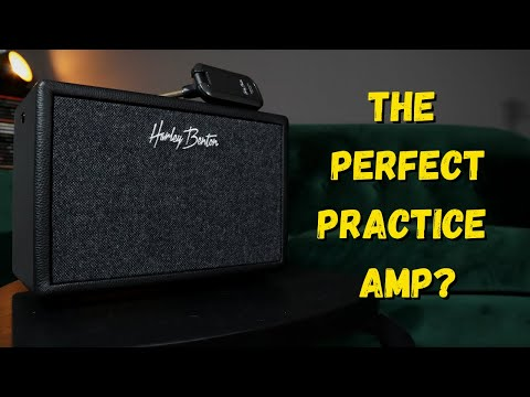 Harley Benton Airborne Go - Wireless Modeling Guitar Amp - Demo/Review
