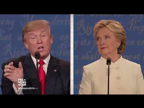 Clinton and Trump debate nuclear weapons