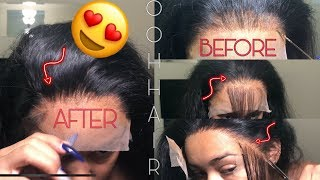 How To Customize Your Hairline | Beginner Friendly | OOHHAIR