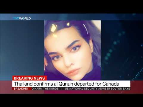 Runaway Saudi teen leaves Thailand for Canada