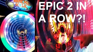Black Hole Arcade Game Insane 2 Jackpots in A Row?! ArcadeJackpotPro