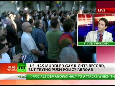 Gay rights now US foreign policy priority?