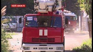 Взрыв бытового газа: в Сочи прошли масштабные учения