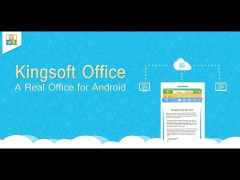 Kingsoft Office + PDF - FREE!