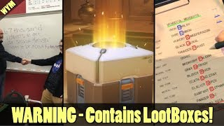 Fortnite School Exam, ESRB Loot Box Warning Label, Secret Message in Metal Gear Survive