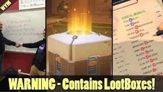 Fortnite School Exam, ESRB Loot Box Warning Label, Secret Message in Metal Gear Survive