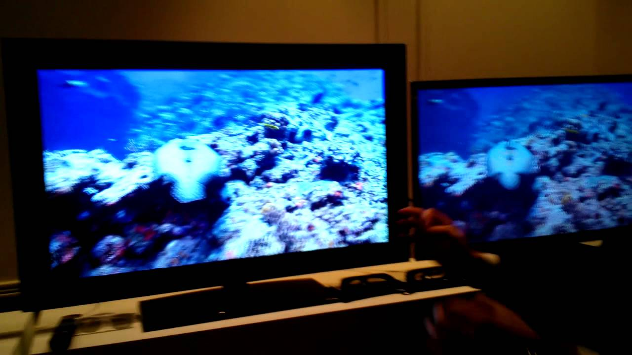 e298c9767d Comparación entre LED 3D Premium HX de Sony y otro televisor 3D by César  Dergarabedian