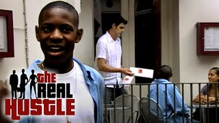 The Real Hustle: The Fake Waiter Scam