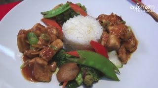 Orange Chicken With Steamed Rice And Stir Fry Vegetables - Dinner Boot Camp - Episode 9