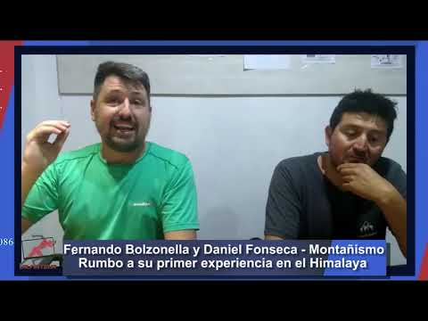FERNANDO BOLZONELLA Y DANIEL FONSECA RUMBO AL HIMALAYA | ALMATEUR 227