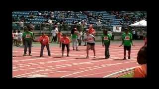 Icahn Stadium - 400 meter run