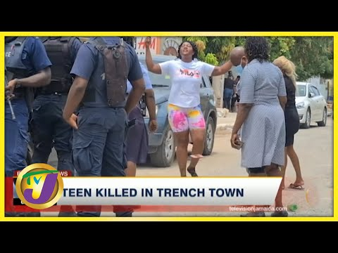 Tension High in Trench Town, Jamaica Following Shooting | TVJ News