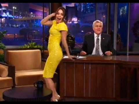 Vanessa Hudgens' Booty Poppin' Dance - The Tonight Show with Jay Leno