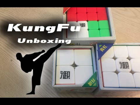 KungFu 2x2 3x3 and 4x4 unboxing - YouTube