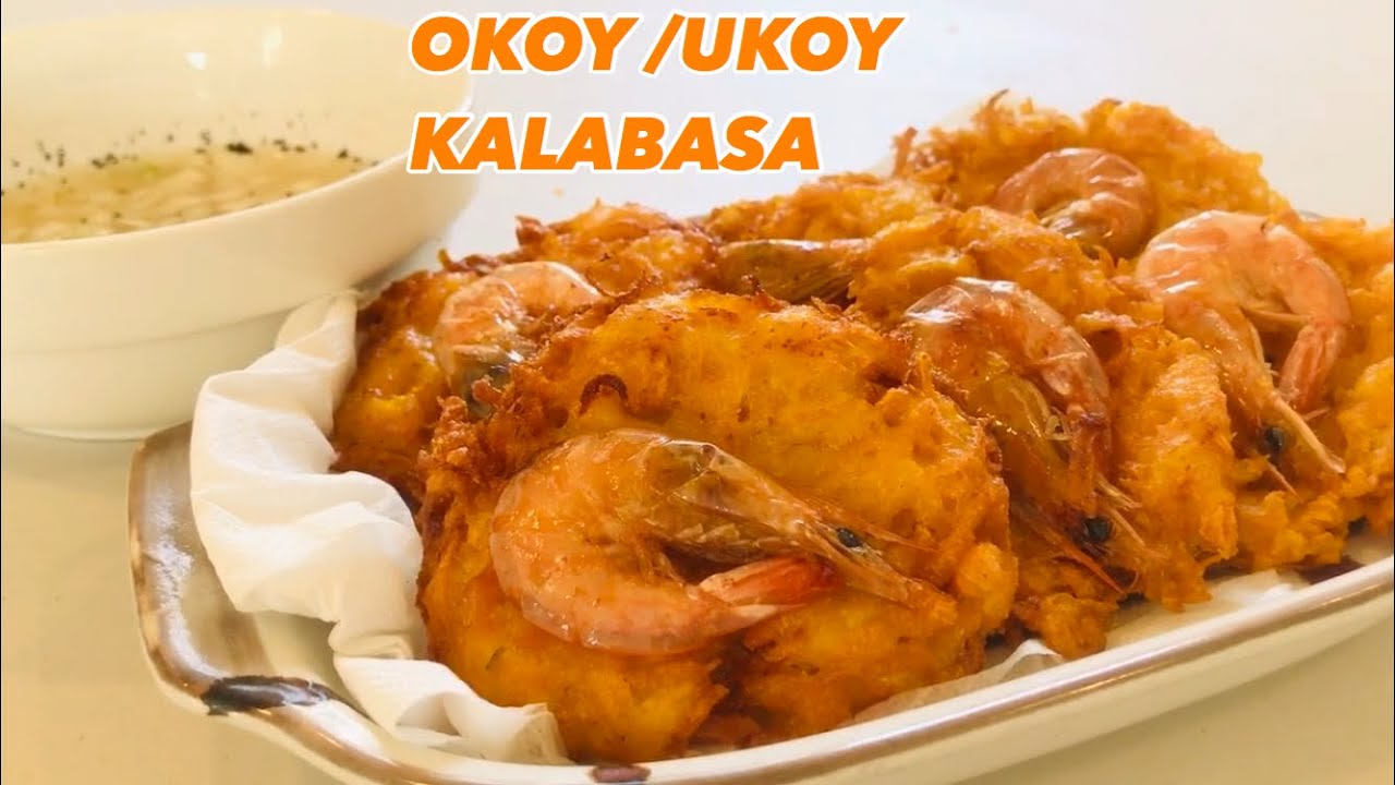 Okoy/Ukoy Kalabasa with Hipon + Sawsawan Pinoy Merienda/Ulam | Recipe PH