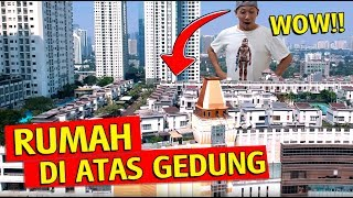 Gambar cover (teks Indonesia) Grebek Rumah di atas Gedung (Cosmo Park) - Cuma orang Kaya Tajir tinggal disini!