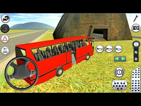 Bus Simulator Game 2018 - Android Gameplay FHD