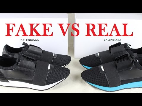 fc72cc6cccf How to Spot Fake Balenciaga Race Runners | A Closer Look - YouTube