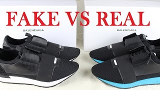 Real vs Fake Balenciaga Race Runners | A Closer Look