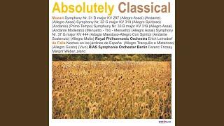 Symphony No. 31 in D Major KV 297: II. Andante