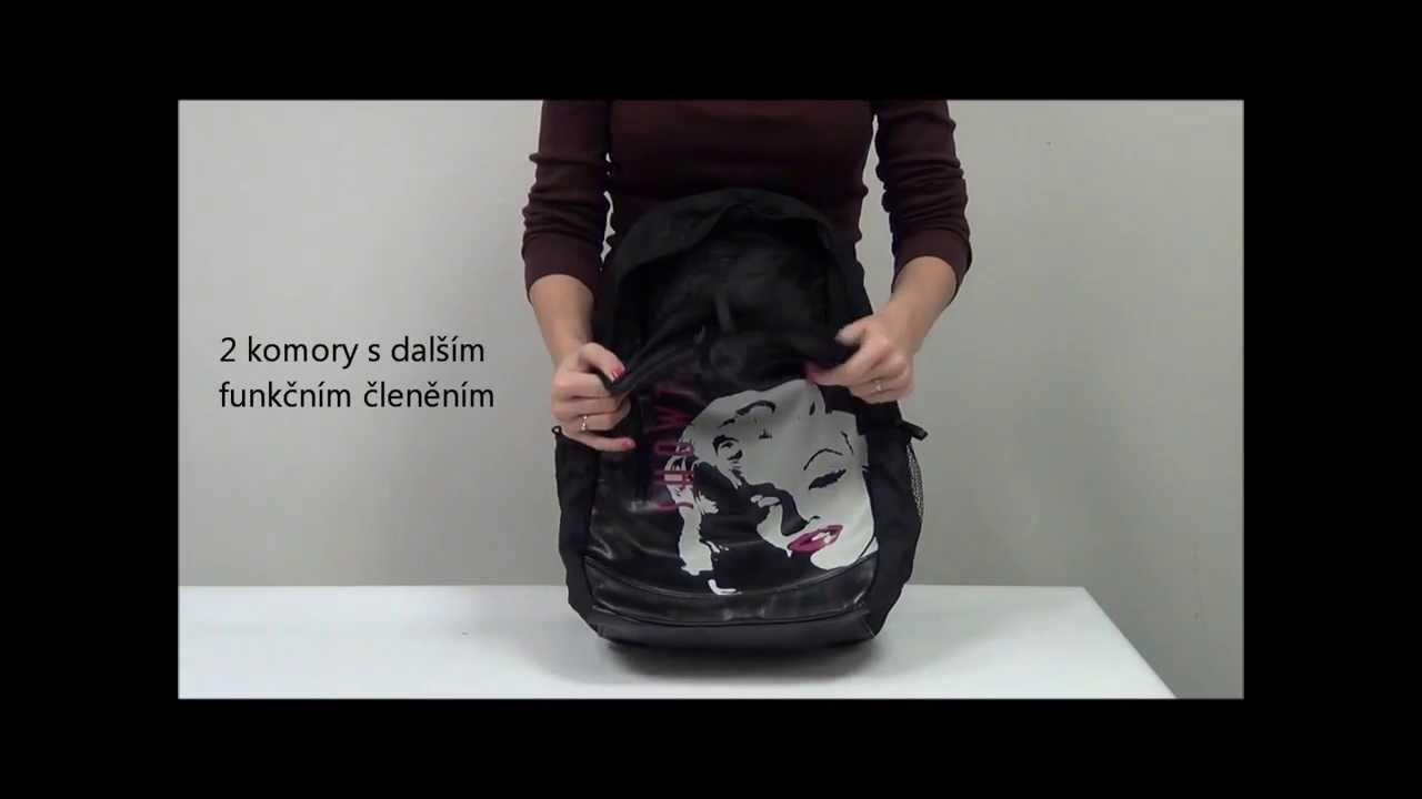 Školní batoh Walker Fun Showtime - YouTube cb2dfe5060