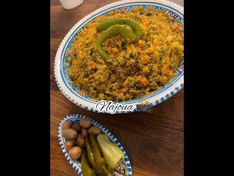 🇹🇳-couscous-tunisien-au-vert-de-fenouil-🇹🇳-/-فرفوشة-/-كسكسي-بالبسباس