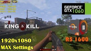 GTX 1060 | H1Z1: King of the Kill ❗️ Ryzen 5 1600 ❗️ 1080p ULTRA settings