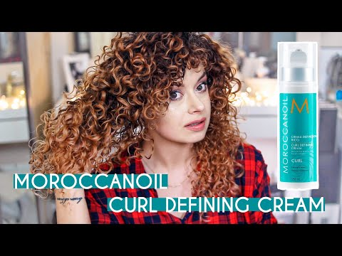 TEST NA ŻYWO ✦ Moroccanoil Curl Defining Cream ✦ HIT CZY KIT? | Curly Madeleine