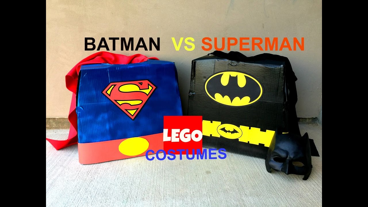How to make diy an awesome batman vs superman lego halloween how to make diy an awesome batman vs superman lego halloween cardboard box costume youtube solutioingenieria Image collections